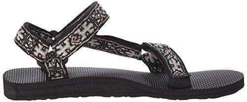 Teva Herren Original Universal Sandale Alte Eidechse Schwarz
