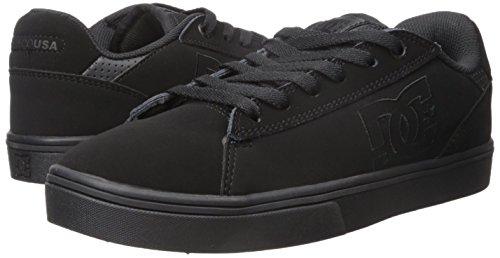 DC Men's Notch Skate Shoe, Black, 13 M US