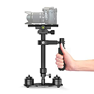 CISNO Handheld Stabilizer for Camcorder Camera Video DV DSLR Nikon Canon, Sony, Panasonic