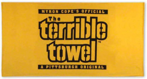 (NFL Pittsburgh Steelers Original Terrible Towel, Gold)