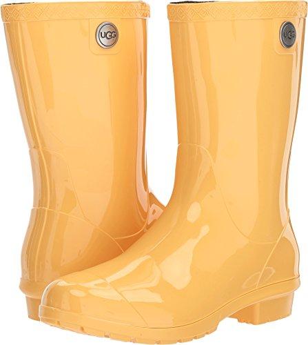 UGG Australia Women's Sienna Rain Boot, Sunflower, 6 M US (Australia Ugg Usa)