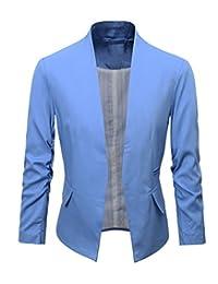 Benibos Women's Folding Sleeve Office Blazer
