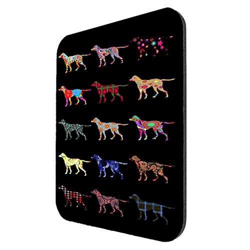 English Pointer Dog Pattern Mousepad