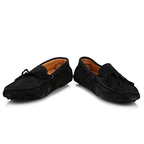 Hudson Hommes Noir Ricardo Suede Chaussures