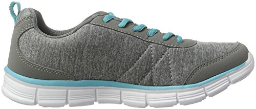 Turquoise Grey Run Kr KangaROOS Damen Vapor Sneaker Ref Grau A0A8pq