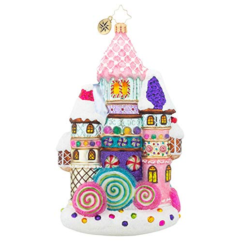 Christopher Radko Candy Castle Christmas Little Gem Christmas Ornament