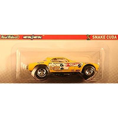 SNAKE CUDA NHRA CHAMPIONSHIP DRAG RACING Hot Wheels 2011 RACING SERIES 1:64 Scale Die-Cast Vehicle: Toys & Games
