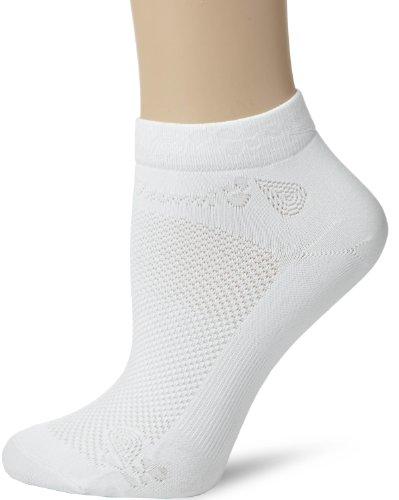 Pearl Izumi White Cycling Socks (Pearl Izumi Women's Silklite Sock,White,Small)