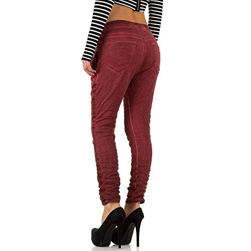 Maxatys Femme DU 38 Rouge JOUR Pantalon PLACE Harem 7xfBawEqqX