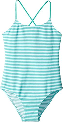 Vilebrequin Kids Girl's Terry Raye One-Piece Swimsuit (Big Kids) Blue 10 by Vilebrequin Kids