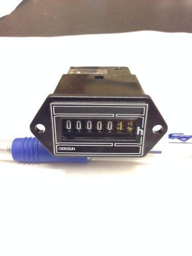 (Grasslin Hour Meter FWZ35 24 To 30 Volt AC Timer FWZ35-24u filter air conditioner run hours )