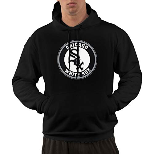 Chicago White Sox Men Hoodies Fashion Pullover Hooded Sweatshirt Shirts S Chicago White Sox Pullover
