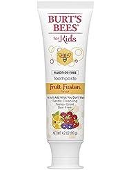 Burt's Bees Kids Toothpaste, Fluoride Free, Fruit Fusion, 4.2 Ounce