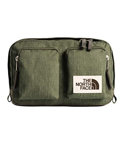 (The North Face Unisex Kanga Pack Four Leaf Clover Dark Heather/New Taupe Green Dark Heather One Size)