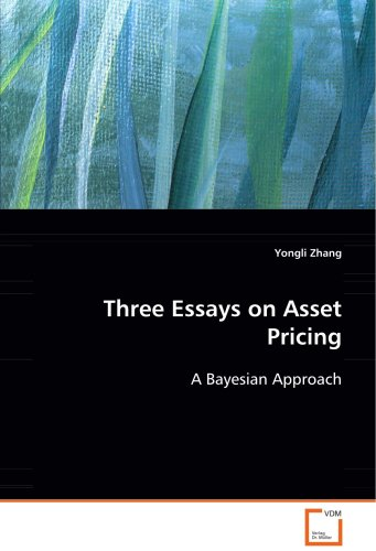 Three Essays on Asset Pricing: A Bayesian Approach