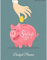 Budget Planner: Weekly & Monthly Expense Tracker Organizer,Budget Planner and Financial Planner Workbook ( Bill Tracker,Expense Tracker,Home Budget book / Extra Large ) Pink Pig Cover