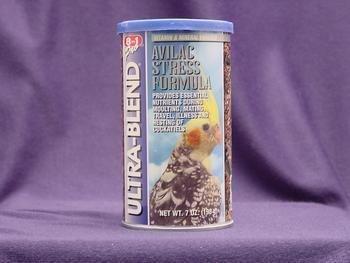 8 in 1 Pet Products Cockatiel Ultrablend Avilac Stress Diet 7oz, My Pet Supplies