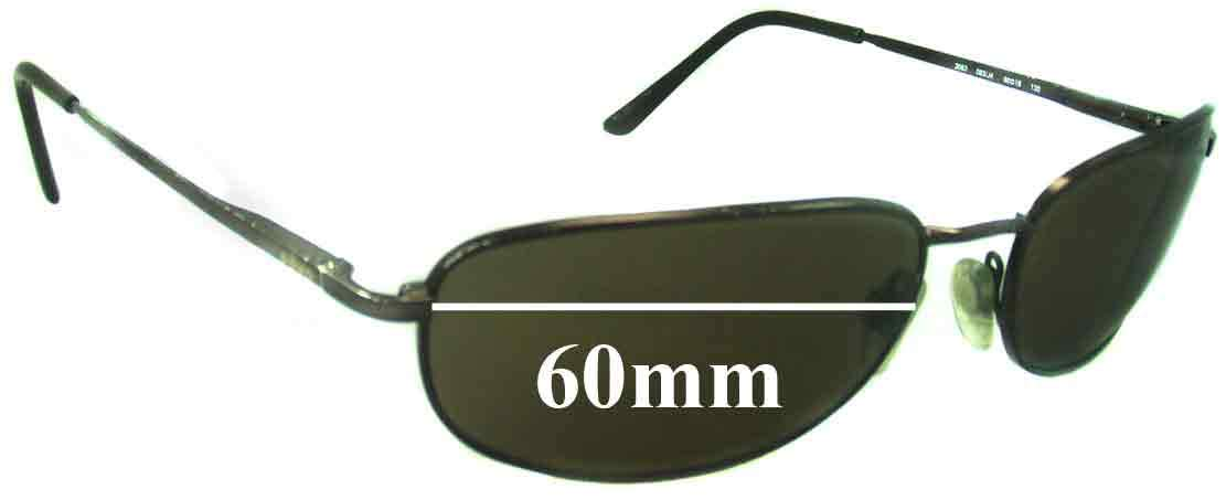SFX Replacement Sunglass Lenses fits Revo 3063 60mm Wide