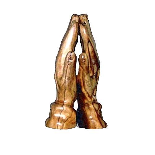 "Bethlehem Olivewood Praying Hands - 8"" Pack Of 1"