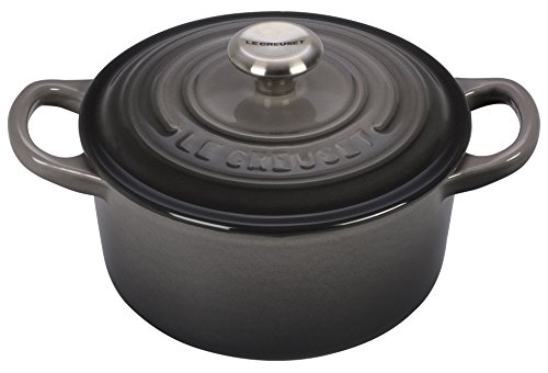Le Creuset Signature Enameled Cast-Iron 1-Quart Round French (Dutch) Oven, Oyster by Le Creuset (Image #1)