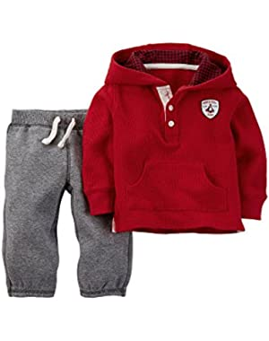 Baby Boys' Hoodie and Pants – Baby Boys – 3 Months