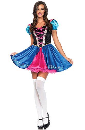 Leg Avenue Women's Alpine Princess Costume, Multi, Large (Sexy Princess Costumes For Adults)