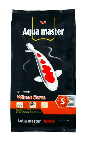 Aqua Master Wheat Germ Fish Food, 2.2-Pound/Bag, Small