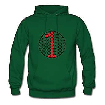 One_ 1 _hexagonal_e1 Green Women Speacial Hoody Shirt Custom X-large