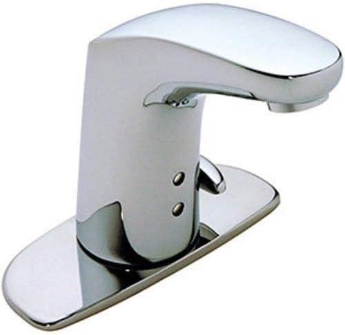 Symmons S-6080-AC-12V Ultra-Sense sensor faucet, No Drain, Polished Chrome