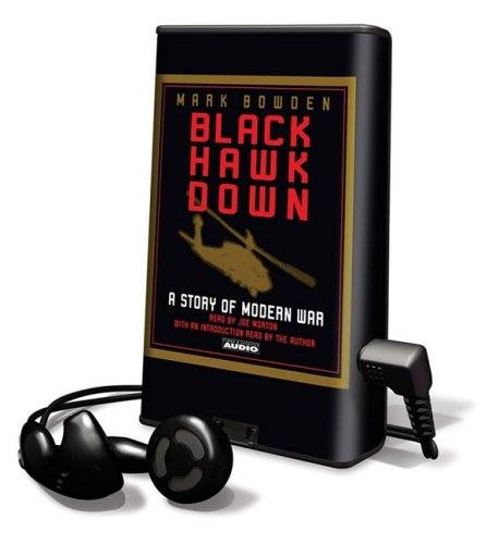 Black Hawk Down: Mark Bowden, Joe Morton: 9781607756606 ...