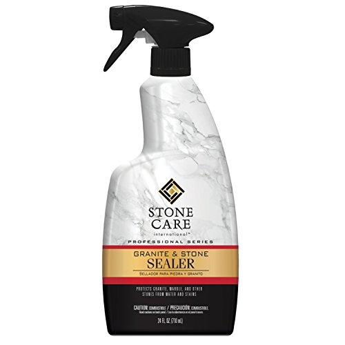 Stone Care International Granite & Stone Sealer Spray, 24 fl oz Granite Sealer