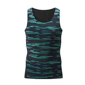 Camiseta Hombres, ❤️ Manadlian ❤️ Hombre Tank Chaleco  Rutina de ejercicio Aptitud Deportes Gimnasio Corriendo Camisa Parte superior Blusa (CN:XXXXL, Verde)