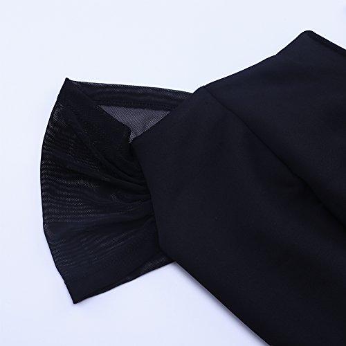 2ff3d1e15f Lalagen Women s Plus Size Off Shoulder Long Formal Party Dress Evening Gown  Size XL (Black