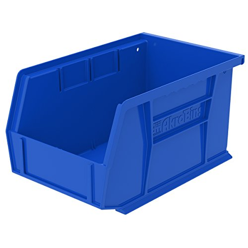 Akro Mils 30237BLUE Plastic Storage Stacking