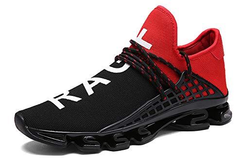 JIYE Men's Running Sports Shoes Free Transform Flyknit Fashi