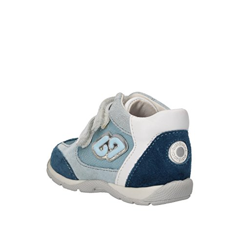 Bambini Sneakers scamosciata in Balducci azzurra pelle CHx7qw