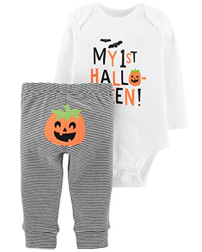 Carter's 2-Piece My First Halloween Bodysuit Pant Set 3 Months -
