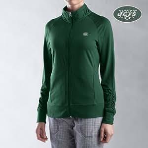 Cutter & Buck New York Jets Women's Full Zip Impulse Jacket Small