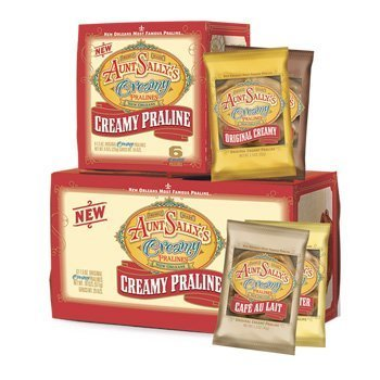 Aunt Sally's Creamy Assorted Pralines Box of 12 -