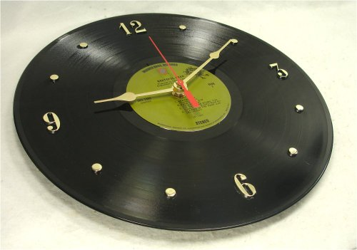 "GRATEFUL DEAD Recycled Vinyl Record Clock – ""Europe '72"" (1972) (Recycled Clock)"