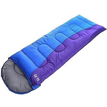 SUHAGN Saco de dormir Bolsa De Dormir Al Aire Libre Para Adultos Pueden Empalmarse Primavera E