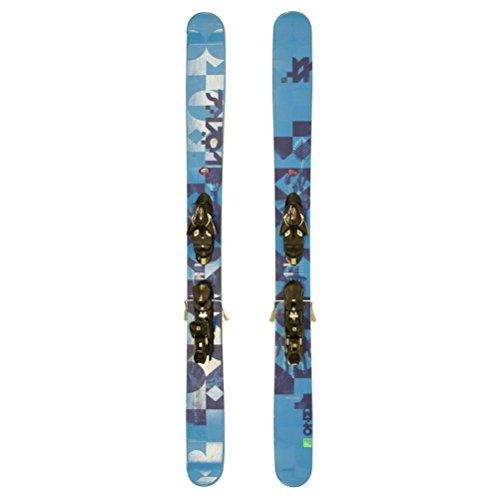 Used 2015 Volkl One Powder Skis Salomon Z12 Bindings A Cond - 166cm