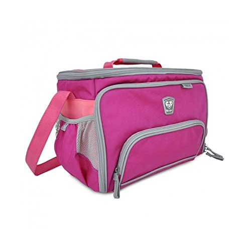 Fitmark Large Meal Management Box, Pink