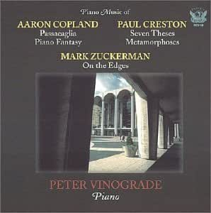 Piano Music of Copland, Creston & Zuckerman