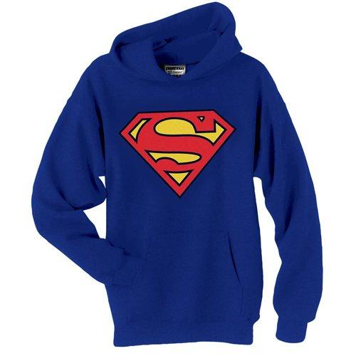Hoodie: Superman - Logo Pullover Hoodie Size M