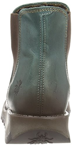 Fly London Women's Salv Ankle Boots Green (Petrol 006) jNIT4Wrkk