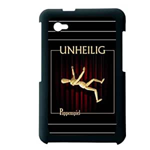 Generic Clear Back Phone Case For Teens Custom Design With Unheilig For Samsung Galaxy Tab P6200 Choose Design 1