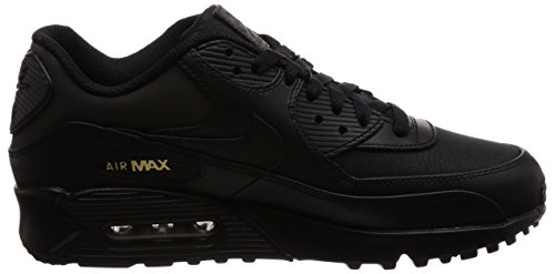 Black Nike Gold Air 90 de MAX para Hombre Zapatillas Black metallic Essential Running vv7wndxZr