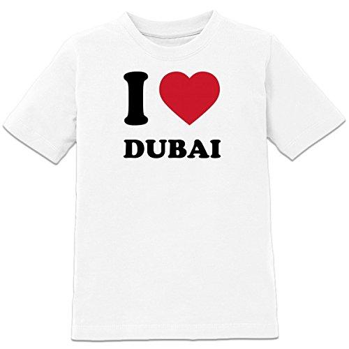 I Love Heart Abu Dhabi Kids T-Shirt