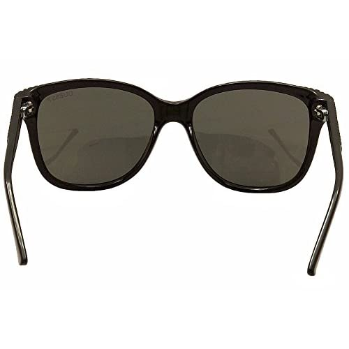11a111011ad GUESS Women s Acetate Soft Cat-Eye Polarized Square Sunglasses